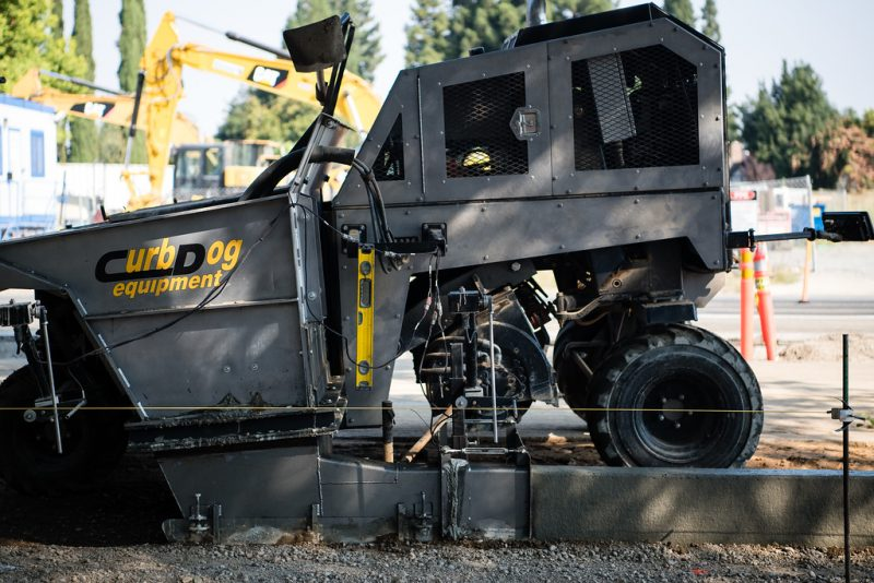 Providing quality curb machines, slipform curbers & curb